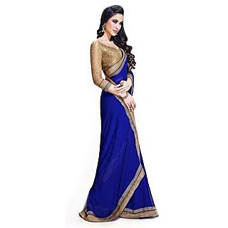 Nairiti Bollywood Replica Saree Jai Ho Blue Saree