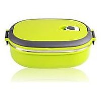Single Layers Stainless Steel Lunch Box With Handle