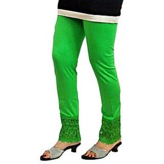 fe767dd5b5416 Almos 4 Way Viscose Lycra Mint Green Plazo Legging Best Deals With ...