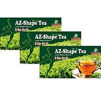 Ayurveda Yogashram Az Shape Tea Pack Of Three (Buy 2 Get 1 FREE)