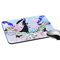 Mesleep Lady Abstract Digitally Printed Mouse Pad   Pd-02-44