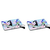 Mesleep Lady Abstract Digitally Printed Mouse Pad   Pd-02-44-2