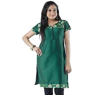 Cotton Green Women Casual Kurti HIFI25GRYS