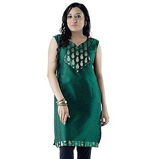 Cotton Green Women Casual Kurti HIFI23BLUF