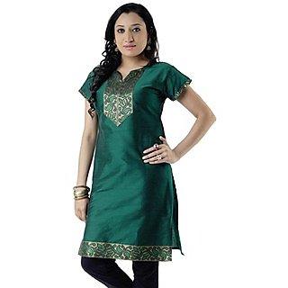 Cotton Green Women Casual Kurti HIFI24BLKS