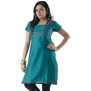 Cotton Green Women Casual Kurti HIFI30GRNH