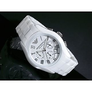 Imported EA White Color Watch For Men