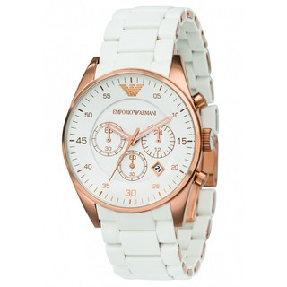 Imported EA White Color Watch For Men - 75016812