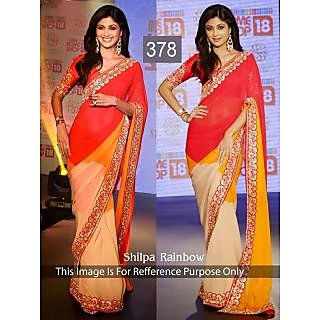 New Arrival Shilpa Rainbow Cc - Online Shopping For Bollywood Sarees
