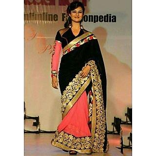 Divyanka Life Style Awesome Designer Saree Were In Ramp Walk