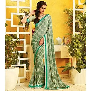 RnLush3152 Bollywood Designer Collection By Chiffon Saree With Silk Blouse.