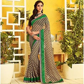 RnLush3154 Bollywood Designer Collection By Chiffon Saree With Silk Blouse.