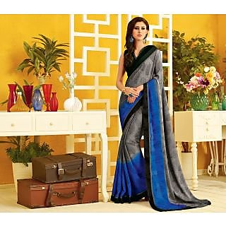 RnLush3157 Bollywood Designer Collection By Chiffon Saree With Silk Blouse.