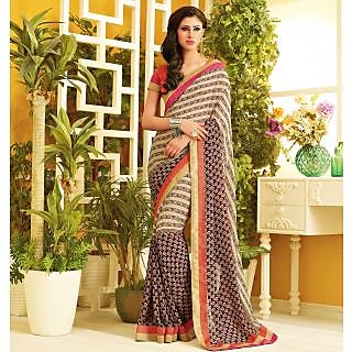RnLush3159 Bollywood Designer Collection By Chiffon Saree With Silk Blouse.