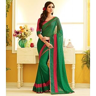 RnLush3166 Bollywood Designer Collection By Chiffon Saree With Silk Blouse.