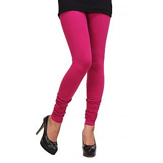 New Trends Pink Cotton Leggings