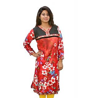 Sharleez Digitally Printed Cotton Kurti