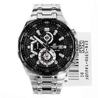 Casio Edifice Stopwatch Chronograph Black Dial Men's Watch - EFR-539D-1AVUDF (EX