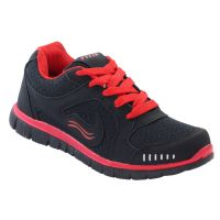 FIZIK Men's Sports Shoe Black-Red ( Zac-4)