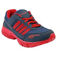 FIZIK Men's Sports Shoe Blue-Red ( Rugby-2)