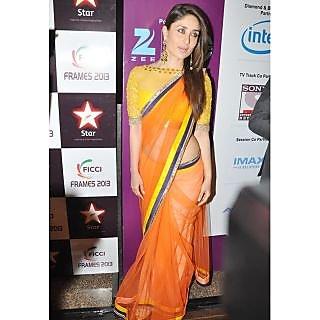 Kareena Kapoor Rasbary Bollywood Replica Saree