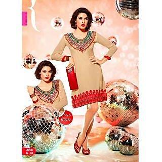 Indo Western Dress Ladies Kurta New Long Fashionable Kurti Indian Wear Tops