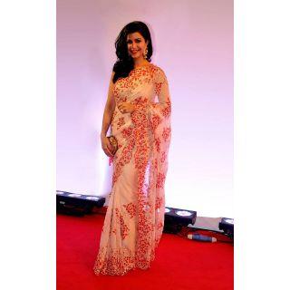 Vani Kapoor Bollywood Style Saree