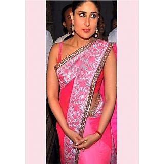 Kareena Cherry Beauty Bollywood Replica Saree