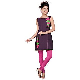 Women's Cotton Embroidered Kurti