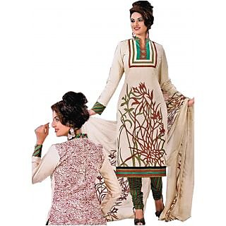 Bansal Collection Pehchan Printed Cotton Suit With Dupatta