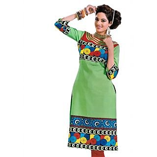 Bansal Collection Pehchan Printed Cotton Suit With Dupatta - 75136350