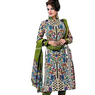 Bansal Collection Pehchan Printed Cotton Suit With Dupatta - 75136410
