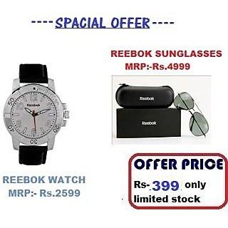 Reebok Core Watch + Reebok Sunglass