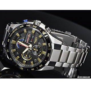 Casio Edifice EFR- 540 RB-1A Chronograph Black Dial Men's Watch