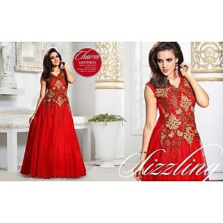 Net Red Gown - 75147952