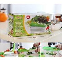 Nicer Dicer Plus Multi Chopper Vegetable Cutter Fruit Slicer Peeler With Demo CD