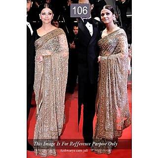 Bollywood Replica Saree - Aishwarya Cans Jall