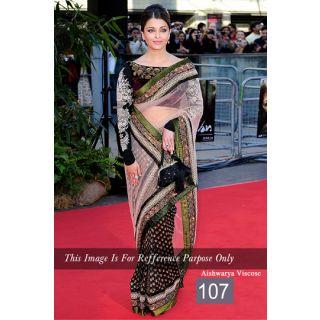 Bollywood Replica Saree - AIishwarya Viscose