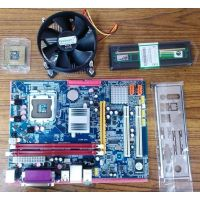 Intel Core 2 Due 2.9GHZ+Motherboard+Ram DDR2 1GB (1year Warranty)