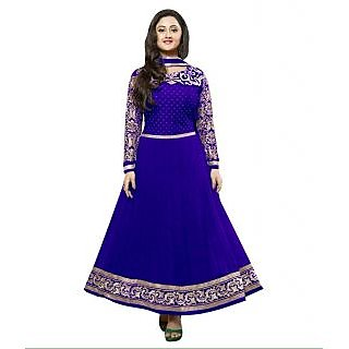 Madhav Enterprise Blue Georgette Designer Party Wear Dress Md10023
