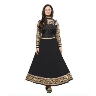 Madhav Enterprise Black Georgette Designer Party Wear Dress Md10027