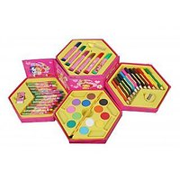 46 Pcs. COLOR SET, COLOR PENCIL, CRAYONS, OIL PASTEL, SKETCH PENS