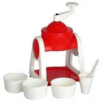 Radhe Gola & Slush Maker Manual Operated Plastic Body Ice Gola Maker - 75193186