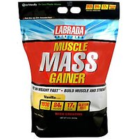 Labrada Muscle Mass Gainer (12Lbs),vanilla,100% Genuine