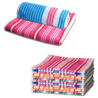 JBG Home Store Attractive Combo Of 2 Bath Towel & 6 Hand  Towels