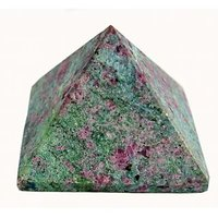 VASTU/FENGSHUI / RUBY JOSITE PYRAMID FOR POWER, GOODLUCK AND PROTECTION(20-25)