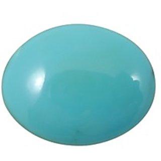 Firoza (Turquoise) Cts. 15.38 With Freebie Five Mukhi Rudraksha