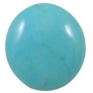 Firoza (Turquoise) Cts. 7.61 With Freebie Five Mukhi Rudraksha