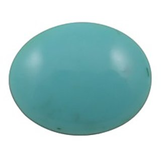 Firoza (Turquoise) Cts. 12.07 With Freebie Five Mukhi Rudraksha