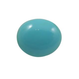 Firoza (Turquoise) Cts. 15.20 With Freebie Five Mukhi Rudraksha